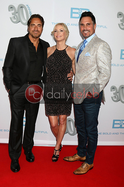 "Thorsten Kaye, Katherine Kelly Lang, Don DIamont<br /> at the ""The Bold and The Beautiful"" 30th Anniversary Party, Clifton's Downtown, Los Angeles, CA 03-18-17<br /> David Edwards/DailyCeleb.com 818-249-4998"
