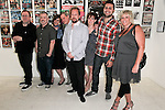ALTERNATIVE PRESS STAFF. Alternative Press magazine celebrates its 25th Anniversary with VIP Art Exhibition at the Merry Karnwoski Gallery. Los Angeles, CA, USA. July 9, 2010.