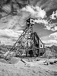Head frame of the historic Kennedy Gold Mine, Jackson, Calif.