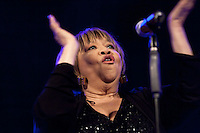"Mavis Staples  performing for the ""Jazz festival of Madrid"""