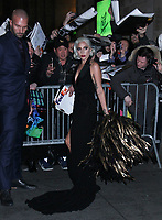 January 08,  2019 Lady Gaga attend The National Board of Review 2018 at Cipriani 42nd Street in New York January 08, 2019  <br /> CAP/MPI/RW<br /> &copy;RW/MPI/Capital Pictures