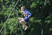 FIERLJEPPEN: VLIST: 22-08-2015, NK Fierljeppen/Polstokverspringen, Sytse Bokma wordt 3e bij Junioren, ©foto Martin de Jong