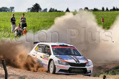 02.07.2016. Mikolajki, Poland. WRC Rally of Poland, stages 12-17.  SUNINEN