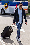 Spainsh  Nacho Fernandez arriving at the concentration of the spanish national football team in the city of football of Las Rozas in Madrid, Spain. November 08, 2016. (ALTERPHOTOS/Rodrigo Jimenez)