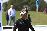 Thongchai Jaidee (THA) on the 1st tee during Round 2 of the Open de Espana 2018 at Centro Nacional de Golf on Friday 13th April 2018.<br /> Picture:  Thos Caffrey / www.golffile.ie<br /> <br /> All photo usage must carry mandatory copyright credit (&copy; Golffile | Thos Caffrey)