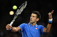 KEY BISCAYNE, FL - MARCH 28: Novak Djokovic of Serbia defeats Martin Klizan of Slovakia in their second round match during the Miami Open Presented by Itau at Crandon Park Tennis Center on March 28, 2015 in Key Biscayne, Florida.<br /> <br /> <br /> People:  Novak Djokovic<br /> <br /> Transmission Ref:  FLXX<br /> <br /> Must call if interested<br /> Michael Storms<br /> Storms Media Group Inc.<br /> 305-632-3400 - Cell<br /> 305-513-5783 - Fax<br /> MikeStorm@aol.com