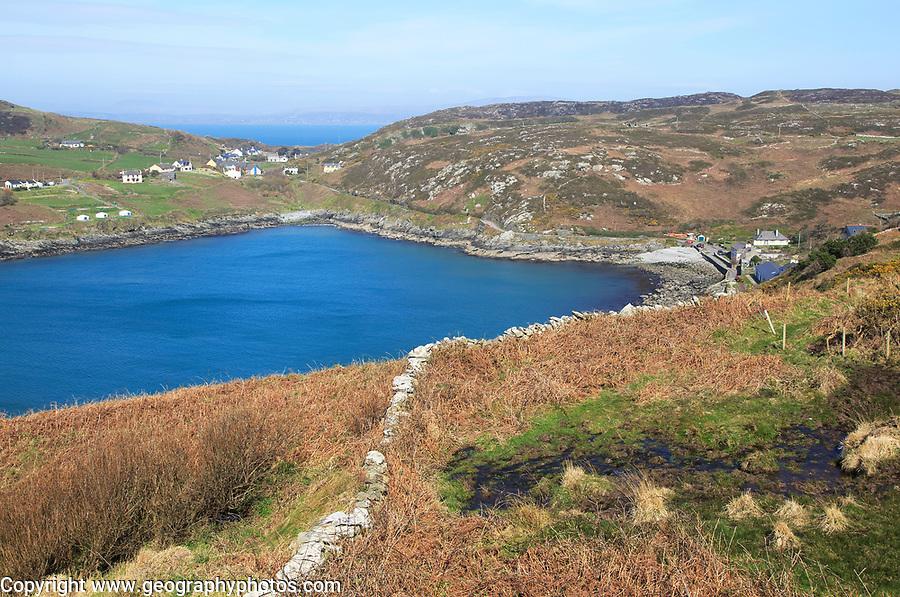 South Harbour bay, Cape Clear Island, County Cork, Ireland, Irish Republic