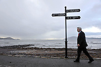 Mick O'Dwyer reflects on his distinguished career in his home town of Waterville in County Kerry.<br /> Picture by Don MacMonagle