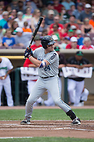 Blaise Salter (24) of the West Michigan Whitecaps at bat against the Dayton Dragons at Fifth Third Field on May 29, 2017 in Dayton, Ohio.  The Dragons defeated the Whitecaps 4-2.  (Brian Westerholt/Four Seam Images)