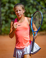 Hilversum, Netherlands, August 6, 2018, National Junior Championships, NJK, Isis van den Broek (NED)<br /> Photo: Tennisimages/Henk Koster