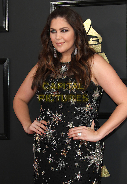 12 February 2017 - Los Angeles, California - Hillary Scott, Lady Antebellum. 59th Annual GRAMMY Awards held at the Staples Center.  <br /> CAP/ADM<br /> &copy;ADM/Capital Pictures