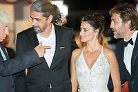 Fernando Leon de Aranoa, Penelope Cruz, Javier Bardem at the &quot;Loving Pablo&quot; premiere, 74th Venice Film Festival in Italy on 6 September 2017.<br /> <br /> Photo: Kristina Afanasyeva/Featureflash/SilverHub<br /> 0208 004 5359<br /> sales@silverhubmedia.com