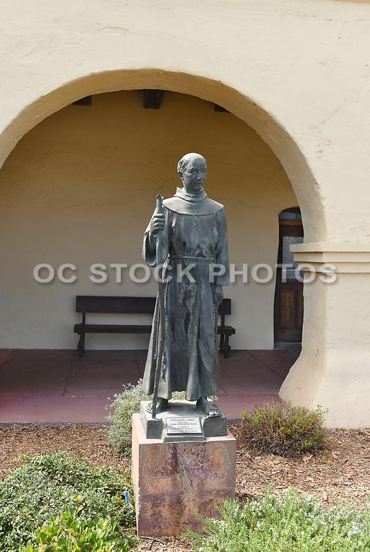 Junipero Serra Statue at Santa Ines Mission