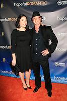LOS ANGELES - NOV 9: Benjamin Pollack, wife at the special screening of Matt Zarley's 'hopefulROMANTIC' at the American Film Institute on November 9, 2014 in Los Angeles, California