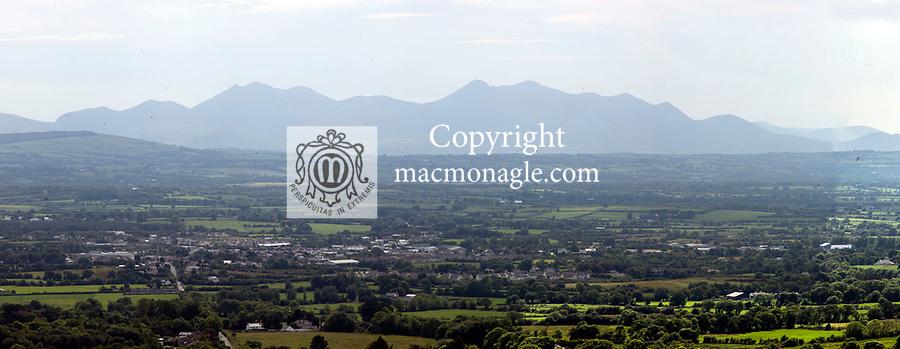 The view from Glounsharoon, Castleisland, County Kerry.<br /> Photo: Don MacMonagle <br /> e: info@macmonagle.com