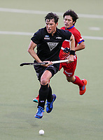 Simon Child during the International Hockey match between the  Blacksticks Men and Japan, TET Multisport Centre, Stratford, New Zealand. Tuesday 15  October 2019. Photo: Simon Watts/www.bwmedia.co.nz/HockeyNZ