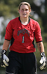 23 September 2007: Ohio State's Lauren Robertson. The Duke University Blue Devils defeated the Ohio State University Buckeyes 2-1 at Koskinen Stadium in Durham, North Carolina in an NCAA Division I Women's Soccer game, and part of the annual Duke Adidas Classic tournament.