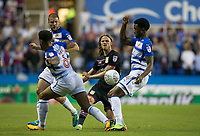 Birkir Bjarnason of Aston Villa during the Sky Bet Championship match between Reading and Aston Villa at the Madejski Stadium, Reading, England on 15 August 2017. Photo by Andy Rowland / PRiME Media Images.