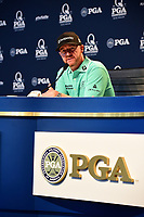 Jimmy Walker (USA) during a press conference during Tuesday's preview of the PGA Championship  at Quail Hollow in Charlotte, North Carolina. 8/8/2017.<br /> Picture: Golffile | Ken Murray<br /> <br /> <br /> All photo usage must carry mandatory copyright credit (&copy; Golffile | Ken Murray)