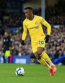 17th March 2019, Goodison Park, Liverpool, England; EPL Premier League Football, Everton versus Chelsea; Callum Hudson-Odoi of Chelsea controls the ball and runs at goal