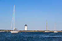 Edgartown Lighthouse, Martha's Vineyard, Massachusetts, USA.