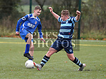 Moneymore Tadhg Martin Slane Wanderers James McCabe.  Photo:Colin Bell/pressphotos.ie