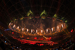 General view, <br /> AUGUST 18, 2018 - Opening Ceremony : Opening Ceremony at Gelora Bung Karno Main Stadium during the 2018 Jakarta Palembang Asian Games in Jakarta, Indonesia. (Photo by MATSUO.K/AFLO SPORT)