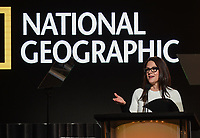 PASADENA, CA - JANUARY 17: President, National Geographic Global Television Networks Courteney Monroe speaks during the National Geographic presentation at the 2020 TCA Winter Press Tour at the Langham Huntington on January 17, 2020 in Pasadena, California. (Photo by Frank Micelotta/National Geographic/PictureGroup)