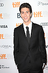 Nat Wolff attending the The 2012 Toronto International Film Festival.Red Carpet Arrivals for 'Writers' at the Ryerson Theatre in Toronto on 9/9/2012