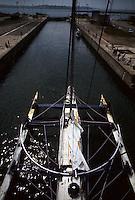 Manureva, ex-Pen Duick IV. En 1974, premier record du tour du monde en solitaire après Sir Francis Chichester.