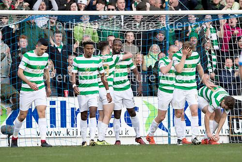 St Johnstone v Celtic&hellip;04.11.17&hellip;  McDiarmid Park&hellip;  SPFL<br />Moussa Dembele celebartes his first goal<br />Picture by Graeme Hart. <br />Copyright Perthshire Picture Agency<br />Tel: 01738 623350  Mobile: 07990 594431