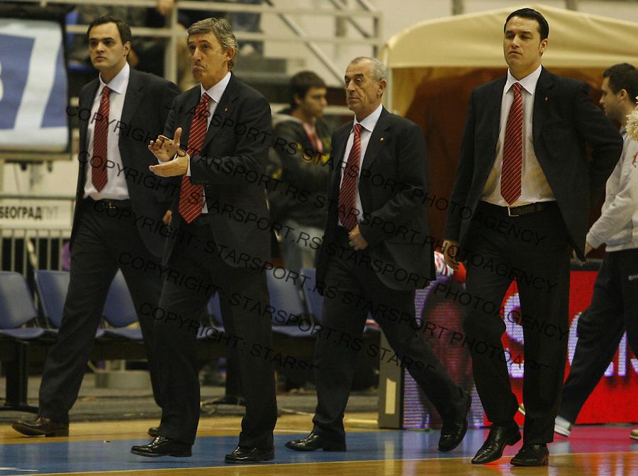 Svetislav Pesic Sport Kosarka Eurocup ULEB Basketball Crvena Zvezda Red Star Beograde Serbia Hemofarm 24.2.2009. photo: Pedja Milosavljevic / STARSPORT