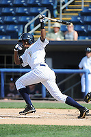 Staten Island Yankees outfielder Daniel Lopez (51) during game against the Connecticut Tigers at Richmond County Bank Ballpark at St.George on July 7, 2013 in Staten Island, NY.  Staten Island defeated Connecticut 6-2.  (Tomasso DeRosa/Four Seam Images)