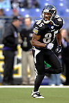 31 December 2006: Baltimore Ravens wide receiver Derrick Mason warms up prior to a game against the Buffalo Bills at M&T Bank Stadium in Baltimore, Maryland. The Ravens defeated the Bills 19-7. Mandatory Photo Credit: Ed Wolfstein Photo.<br />