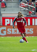 17 September 2011: Toronto FC midfielder Torsten Frings #22 in action during an MLS game between the Colorado Rapids and the Toronto FC at BMO Field in Toronto, Ontario Canada..Toronto FC won 2-1.