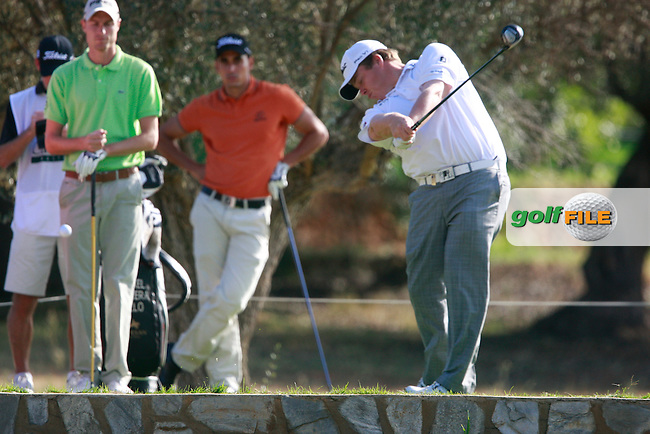 George Coetzee (RSA) tees off the 3rd tee during Thursday's Round 1 of the Castello Masters at the Club de Campo del Mediterraneo, Castellon, Spain, 20th October 2011 (Photo Eoin Clarke/www.golffile.ie)