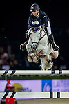 Katharina Offel of Ukraine rides Charlie in action at the Longines Grand Prix during the Longines Hong Kong Masters 2015 at the AsiaWorld Expo on 15 February 2015 in Hong Kong, China. Photo by Juan Flor / Power Sport Images