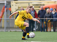 20200329 – BRUGGE, BELGIUM : Standard's Sophie Strepenne (2) pictured during a women soccer game between Dames Club Brugge and Standard Femina de Liege on the 17 th matchday of the Belgian Superleague season 2019-2020 , the Belgian women's football  top division , saturday 29 th February 2020 at the Jan Breydelstadium – terrain 4  in Brugge  , Belgium  .  PHOTO SPORTPIX.BE | DAVID CATRY