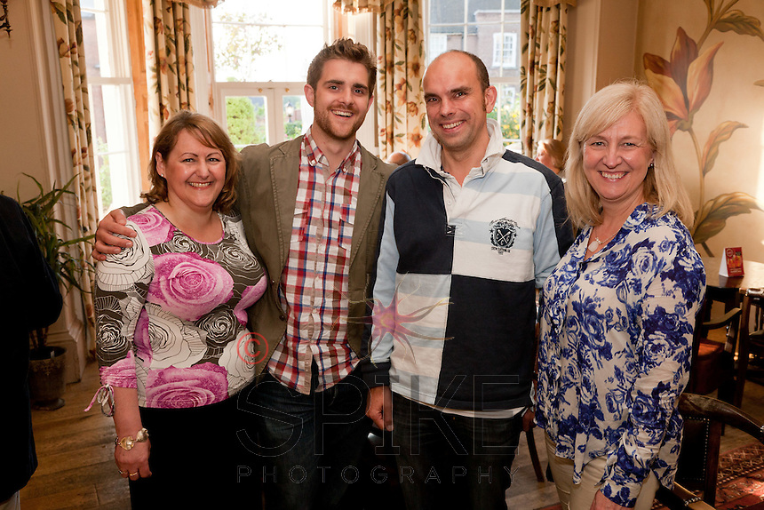 Pictured from left are Deborah Labbate of Star Coaching, Jonathan English of Skeleton Productions, Andy Churchill of Urban Village Property and Dianne Allen of Gemini PR & Marketing