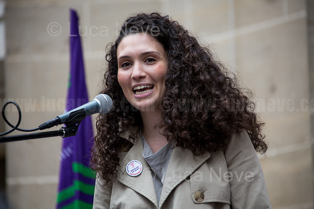 Malia Bouattia (President of Britain's National Union of Students, NUS) <br />