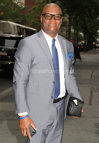 NEW YORK, NY - JUNE 6:  David O'Neal Brown, former Chief of the Dallas Police Department, spotted arriving at 'The View'  in New York, New York on June 6 , 2017.  Photo Credit: Rainmaker Photo/MediaPunch