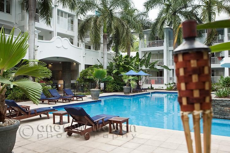 The Beach Club resort.   Palm Cove, Cairns, Queensland, Australia
