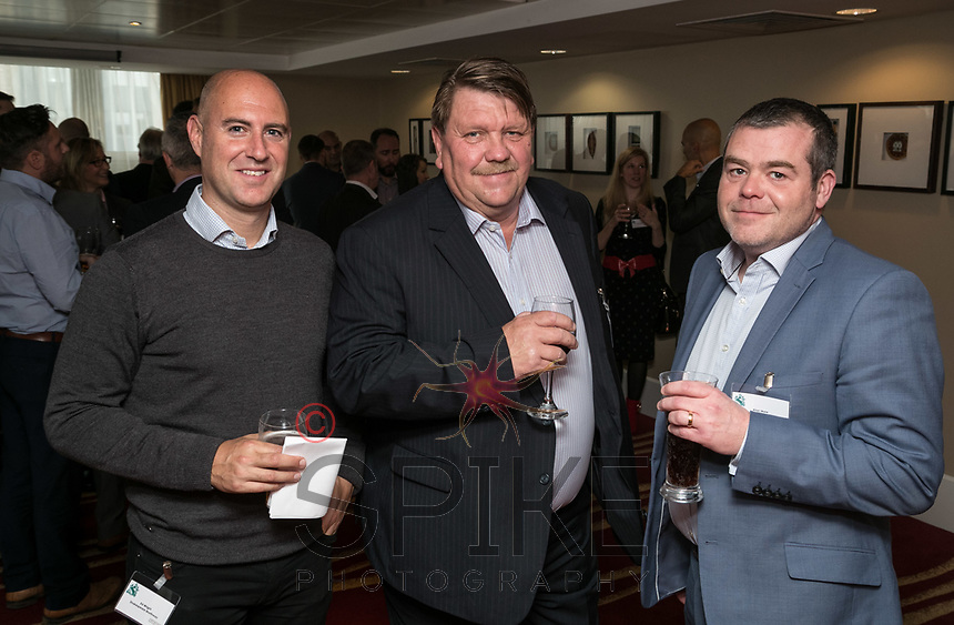 Pictured from left are Ed Wright of Shakespeares, Kevin Bishop of Workable Business Solutions and Alan Mele of Barclays Bank