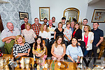 Celebrations for Niamh O Carroll, 24 th, Karl O'Brien, 18th and Eion O'Carroll, 27th with family at Bella Bia's on Saturday