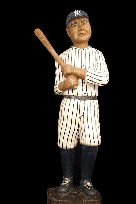 Baseball Collection  Babe Ruth Cigar Store Baseball Player