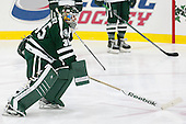 James Kruger (Dartmouth - 35) - The Harvard University Crimson tied the visiting Dartmouth College Big Green 3-3 in both team's first game of the season on Saturday, November 1, 2014, at Bright-Landry Hockey Center in Cambridge, Massachusetts.