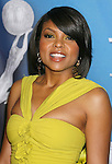 LOS ANGELES, CA. - February 12: Actress Taraji P. Henson arrives at the 40th NAACP Image Awards at the Shrine Auditorium on February 12, 2009 in Los Angeles, California.