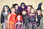 Having fun at the Gneeveguilla NS parents association Halloween party in Gneeveguilla GAA hall on Friday was l-r: Shannon O'Leary, Laoise Coughlan, Rachel Brosnan, Roisin McAulliffe, Aisling Collins, Orla McCarthy, Shannon Guerin, Joan Brosnan and Denise Cremin   Copyright Kerry's Eye 2008