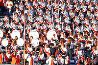 The Virginia Cavaliers band performs during the game against Maryland in Charlottesville, Va. Maryland defeated Virginia 27-20.