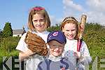 Having a great day out at the Kingdom Cup Baseball Blitz held at Tralee Sports Complex on Saturday were l/r Veronica Heaslip, Kyle Lennihan and Heather Armstrong............................. ........................   Copyright Kerry's Eye 2008